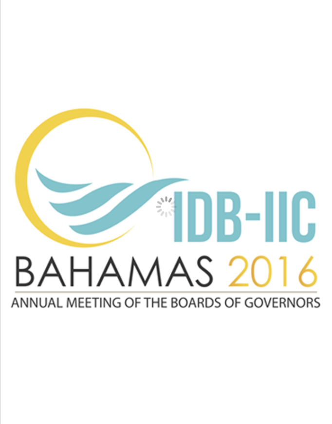 IDB Annual Meeting App: Bahamas Poster